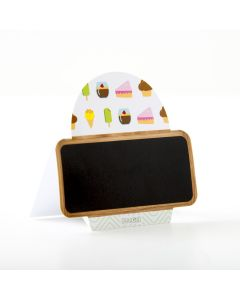 Pastry Flavor Marker - Cupcake Shaped