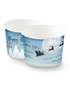 Holiday Cups - Santa Over the World 7 oz.